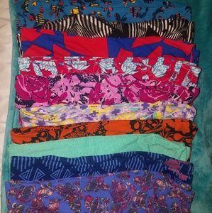 Bundle of 10 leggings